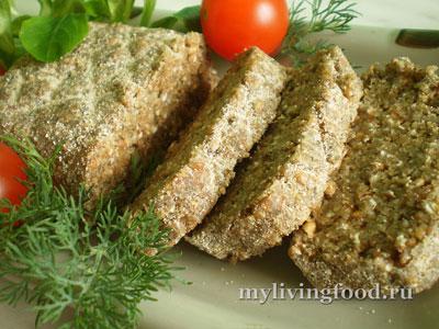 Сыроедческий живой хлеб