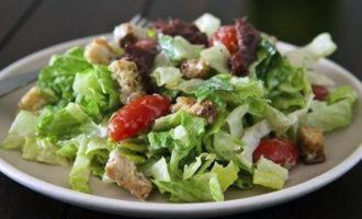 салат цезарь в домашних условиях