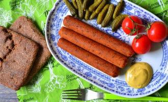 нюрнбергские колбаски сыроедов