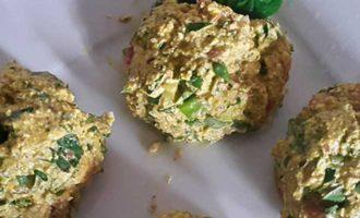 Сыроедческий завтрак - омлет