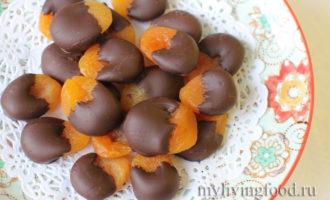 абрикос в какао