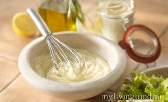 making mayonnaise приготовление майонеза