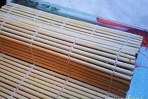 Сыроедческие роллы Футомаки