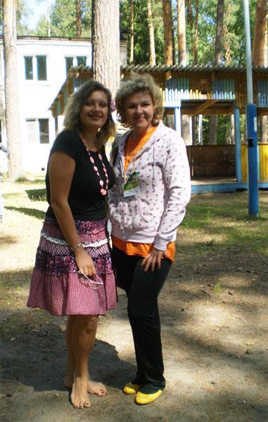 Марина Гладких и Я :)
