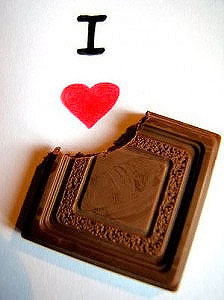 Я люблю полезный шоколад!
