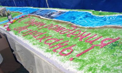 Самый длинный торт в мире