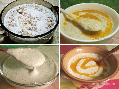 Гречневая каша с «молоком» по-сыроедчески - 3 способа