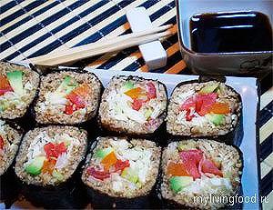 Как делать суши – Шаг 12
