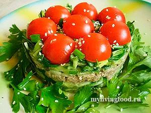 Легкий овощной салат «Дивный»