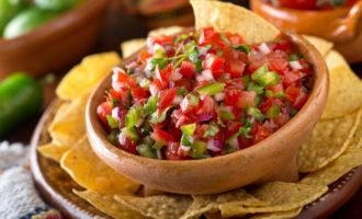 Сыроедческий мексиканский соус