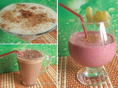 Молочные коктейли – рецепты без молока