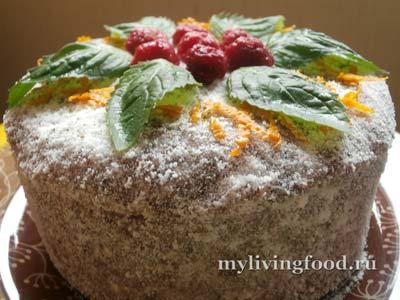Праздничный торт по-сыроедчески