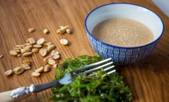 Японский ореховый соус. Сыроедческий рецепт