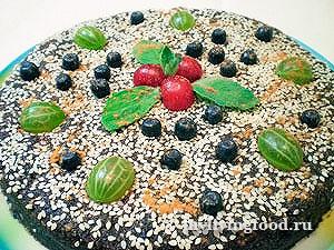 Сыроедческий торт «Молодильный»