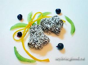 Сыроедческое печенье «Лимонно-шоколадное»