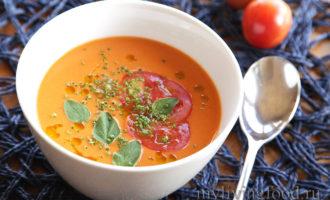 Сыроедческий суп Гаспачо