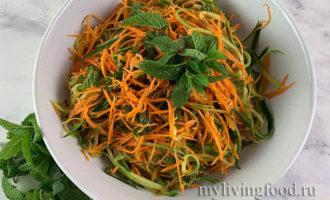 Пикантный салат с фенхелем