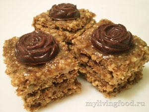 Сыроедческие шоколадные пирожные