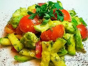 """Сыроедческое """"рагу"""" из овощей"""