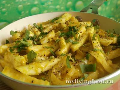 Жареная картошка по-сыроедчески