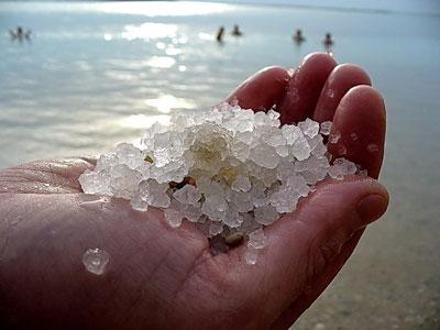 Настоящая морская соль