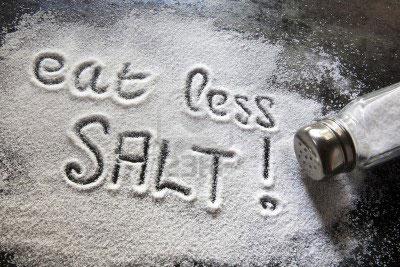 Ешьте меньше соли!