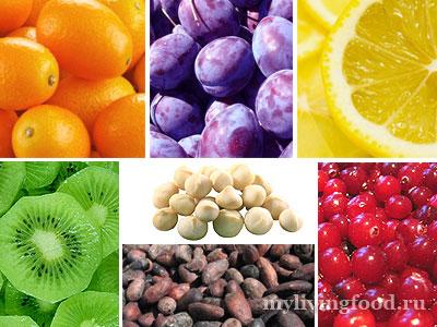 Цветолечение в питании