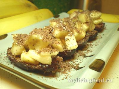 Банановое пирожное - шаг 4