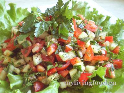 Пастуший чобан салат