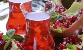 Чай из корки граната и его свойства