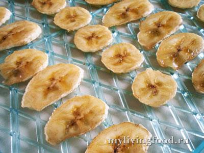 Вяленые бананы