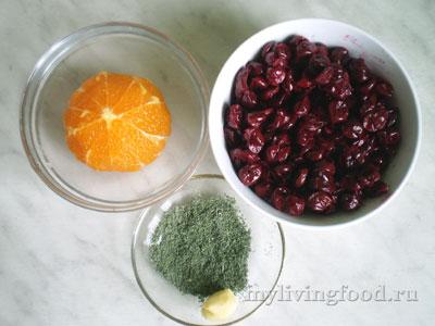 Вишневый смузи - ингредиенты