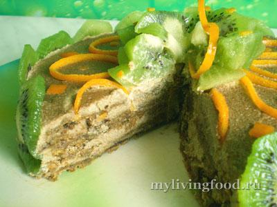 Торт с киви «Чародейский»