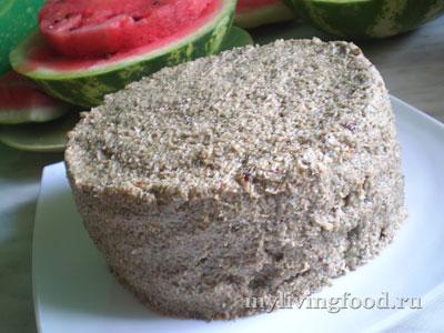 Сыроедческий арбузный торт «Бесподобный»
