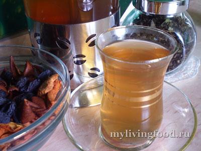 Ферментированный чай из зелени