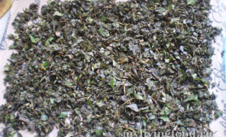 Ферментированный чай из зелени и трав