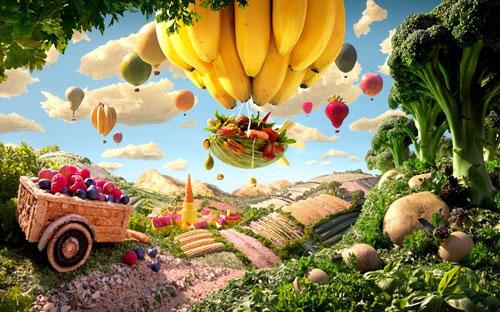 Волшебный мир живой еды