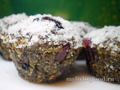 Маффины с ягодами – простой рецепт с фото