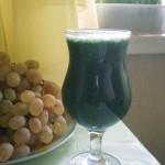 Зеленый коктейль молодости готов!