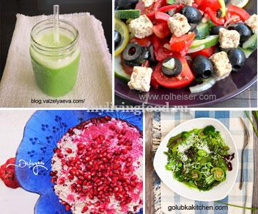 ТОП-5 кулинарных сыроедческих блогов
