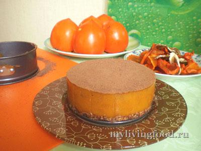 Снять форму с торта