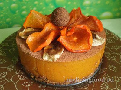 Украсить торт без выпечки и подавать к столу!