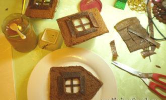 Пряничный домик по сыроедческому рецепту