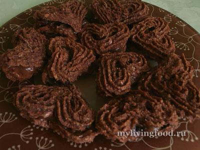 Печенье с финиковым кремом