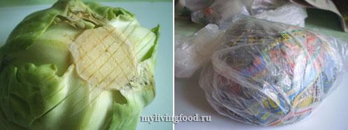 Так лучше всего хранить капусту и черешковый сельдерей