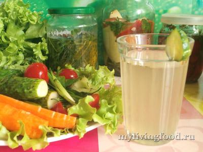 Рассол для маринованных овощей