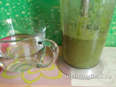 Зеленый соус-коктейль