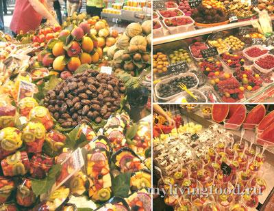 Фруктовые салаты в Испании