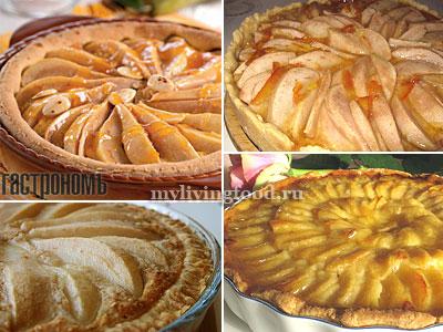 Магрибский пирог с миндалем и грушами по традиционным рецептам