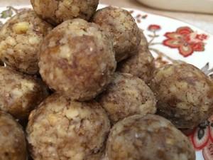 Сыроедческие конфеты с имбирем от Юлии Орлянской